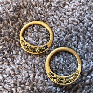 Diablo Organics 2g Brass Hoops